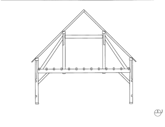 26x36_QueenpostTrussClearspan_Bent2or3