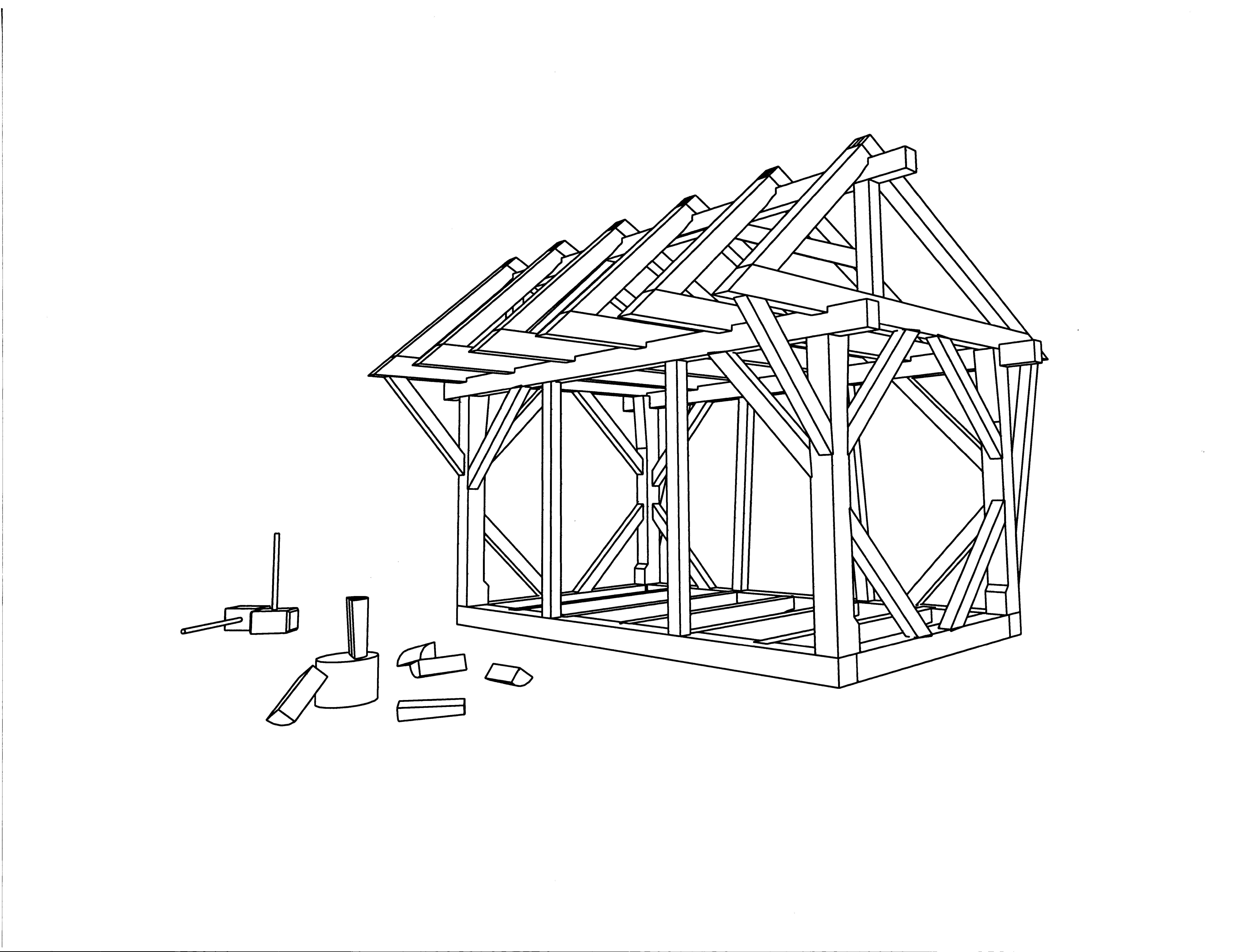 Frame Styles | Brunswick Timber Frames, Inc.